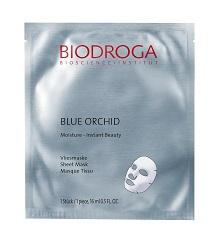 BLUE ORCHID Moisture – Instant Beauty – Tissue Mask – Maska nawilżająca. nr. ref. 45452. Opakowanie – saszetka 16ml.