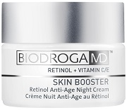 BIODROGA MD SKIN BOOSTER  Retinol Anti-Age Night Cream – Krem na noc anti-age z Retinolem. nr.ref. 45554. Opakowanie 50ml.